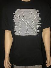 New Era NY New York Yankee's Die Hard Fan Heartbeat T-Shirt Tee Size XXL