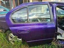 Ford BA BF Falcon RH Right Rear Door Assembly Elect Window Paint P3 Phantom