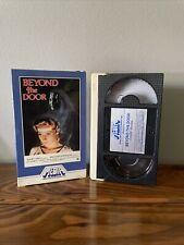 Beyond the Door 1982 Media BETA (NOT VHS) Betamax Horror RARE Both Flaps Nice!