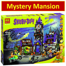2018 HOT Scooby Doo Mystery Mansion 10432 NEW Buidling Blocks Bricks Figure Toy