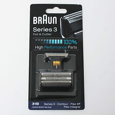 BRAUN Mens Shaver Foil & Cutter 31B 5000 6000 High Performance Replacement Parts