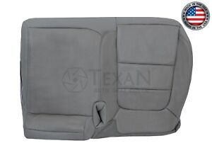 2002, 2003 Ford F150 Lariat Super Crew Passenger Bench Leather Seat Cover Gray