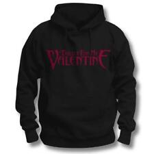 Bullet for My Valentine Red Band Logo Black Mens Hooded Jumper Hoodie XXL