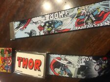 THOR  Belt Brand-new  amazing marvel  gift belt One Size Children And Adult
