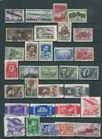RUSSIA 1930s ISSUES USED WITH ZEPPELINS FRESH LOOKING!