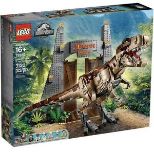 LEGO Jurassic Park World T Rex Rampage 75936 Rare Brand New Sealed