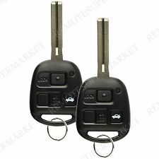 Replacement for Lexus 2001-2005 GS430 IS300 1998-2000 LS400 Remote Key Fob Pair