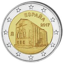 ESPAGNE 2 Euro Commémorative Eglise Santa Maria 2017 UNC