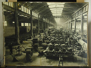 Adolfo Matteo Piacentini 25 3/16in 1949 Factory Steelwork Longwy Photo Industry