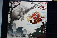 Australien 2011 Beijing Intern. Coin Expedition Nur 2.888, #F3273, 2 x 1/2 Unze