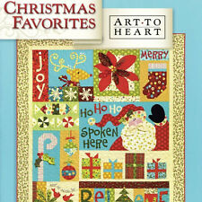 CHRISTMAS FAVORITES Nancy Halvorsen Applique NEW BOOK Christmas Decorations Home