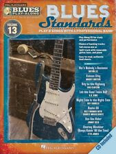 Blues Standards Sheet Music Blues Play-Along Book and Cd New 000843205