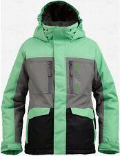 Burton Boys Distortion Snowboard Jacket (M) Snooker True Black Jet Pack