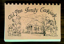 Rare OLD PINE FAMILY COOKBOOK, 1980, Philadelphia, Pennsylvania