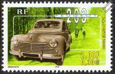 PEUGEOT 203 CAR STAMP (2000 France)