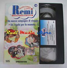 film VHS cartone REMI  NR. 16  - 2  EPISODI - DE AGOSTINI 2004 (F9)  no dvd