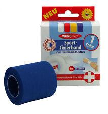 Sporttape Sportfixierband 5 m x 50mm Sport Fixier Band 4 Farben Fixieren Stützen