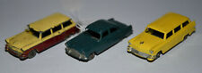 MATCHBOX LESNEY 31a x2 Ford Station Wagon + 33a Ford Zodiac - played with