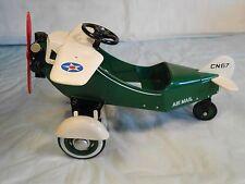Hallmark Kiddie Car Classics Airplaine 1935 Steelcraft Air Mail 1996 Murry #1154