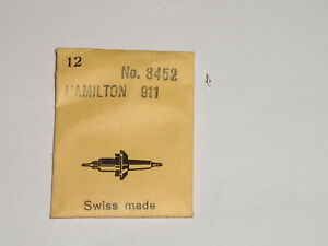 Hamilton balance staff 12s 902 904 912 916 918 922 3050 dr Unruhwelle Ronda 1210