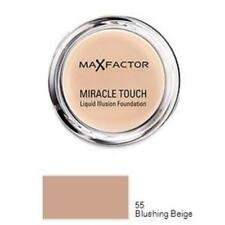 MAX FACTOR Miracle Touch Foundation Blushing Beige 55 - 11.5g NEW (Broken Seal)