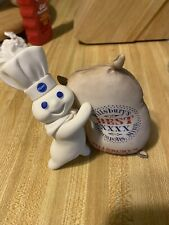 "Pillsbury Doughboy Collector Figurine ""Flour Power� By Danbury Mint"