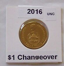 2016 $1 Changeover Coin (Unc)