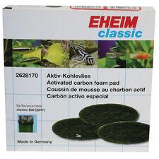 Eheim 2217 600 Black Carbon Aquarium Filter Pad OEM 3pk