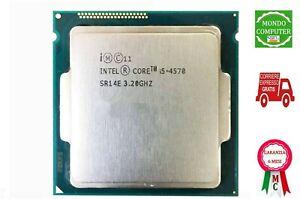 CPU INTEL CORE I5 4570 3.20 GHZ SOCKET 1150 PROCESSORE 4.a GENERAZIONE