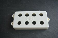 MM / olp white cover for  Bass by herrick pickups U.K for MM factory magnets