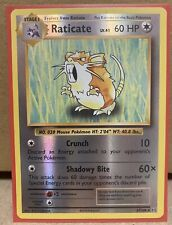 Pokemon TCG Evolutions - Raticate 67/108 Rare Reverse Holo - NM