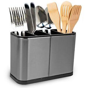 Kitchen Cutlery Holder Spoon Fork Storage Rack Organizer Utensils Chopstick Box