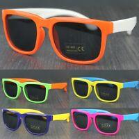 Children Kids Colourful Square Polarised Sunglasses Boys Girls UV400 Protection