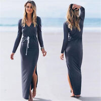 Fashion Women Bodycon Casual Party Evening Cocktail Summer Beach Long Maxi Dress