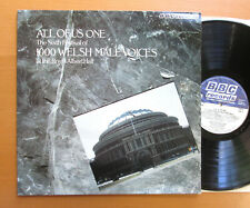 ALL OF US ONE Sixth Festival Of 1000 Welsh Male Voices 1979 BBC Records REC 343