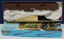 Athearn 1143 HO MOW Work Train Baggage Car Kit CP Rail Tuscan NIB Blue Box