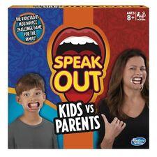 Hasbro C31451020 Speak out Kids VS Parents Family Game