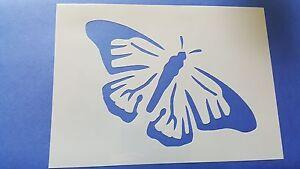 Schmetterlinge Wandschablone Schablone Malerschablone Stupfschablone Kindermotiv