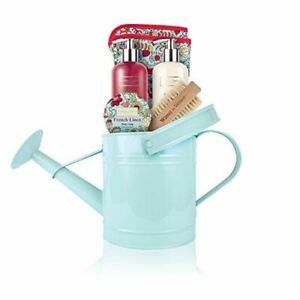 Winter in Venice French Linen Watering Can Gift Set (Christmas Gift Set)