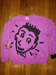 Vintage 80s Pee Wee Herman Official Brand Sweatshirt 1989 Size Small 80s
