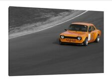 Lotus Cortina 30x20 Inch Canvas Framed Picture Print Wall Ford