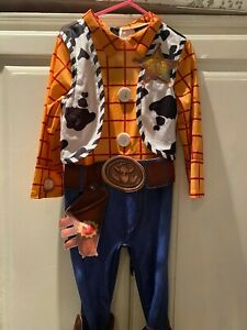 Toy Story Woody Fancy Dress Costume Ages 3-4