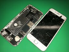 Two (2x) iPhone 6 For Parts   Silver   Unknown Capacity. Non-Functioning!