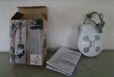 woerltronic Modell BR-10 Badradio Wand Dusch Radio weiß, Spritzwassergeschütztes