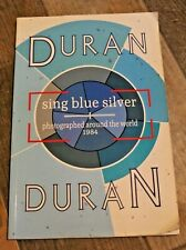 More details for rare 1980's duran duran sing blue silver photo music tour 100% charity donation