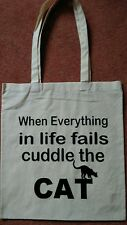Tote Bag for cat lovers ideal fun gift