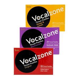 Vocalzone Throat Patilles Mix Match 3
