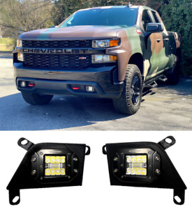 2019-2021 Chevrolet Silverado Fog Light LED Pod Mounts