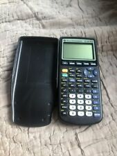 Texas Instruments Ti-83 Graphing Calculator / Hard Cover Tested & Works