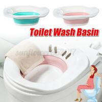 Foldable Toilet Wash Bidet Basin Anal Hip Shower Soaking Bath Pregnant Woman AU!